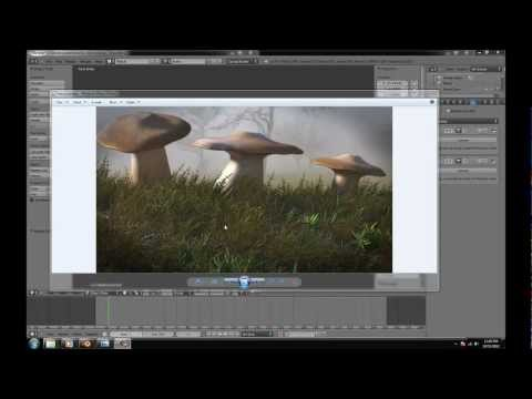 Creating moss in blender