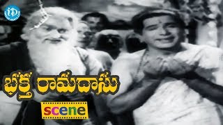 Bhakta Ramadasu Movie Scenes - Kamala And Gopanna Plans To Build A Temple In Badhrachalam || NTR - IDREAMMOVIES
