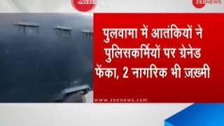 8 cops injured in militant grenade attack in Pulwama - ZEENEWS