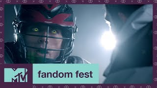 'Supernatural Lacrosse' Teen Wolf EXCLUSIVE Sneak Peek | Fandom Fest 2017 | MTV - MTV