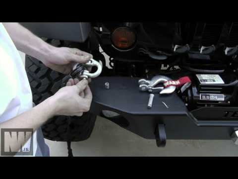 Warn 9.5 cti-s Winch Install - Stock to Rock Episode 12 -