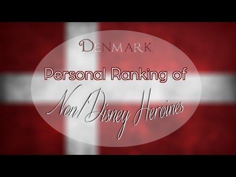 Personal Ranking of Danish Non/Disney Heroines ♥