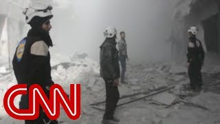White Helmets evacuated into Jordan by Israel - CNN