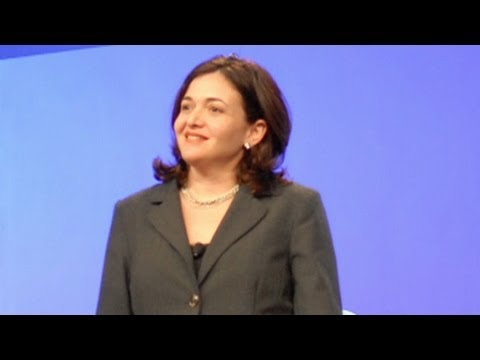 Sheryl Sandberg: Women Must Learn to 'Lean In'