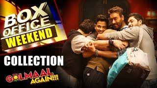 Golmaal Again | Weekend Box Office Collection - HUNGAMA