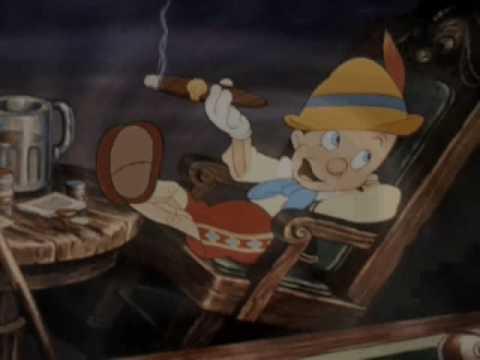"""Klasyka gatunku """"z papierosem""""- czyli papierosy, fajki i cygara w bajkach Disneya"""