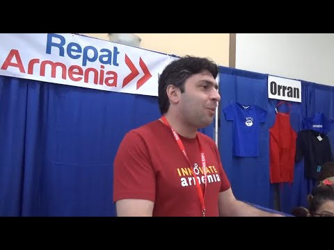 Volunteer Armenia Expo Interviews Montebello Feb. 2015.