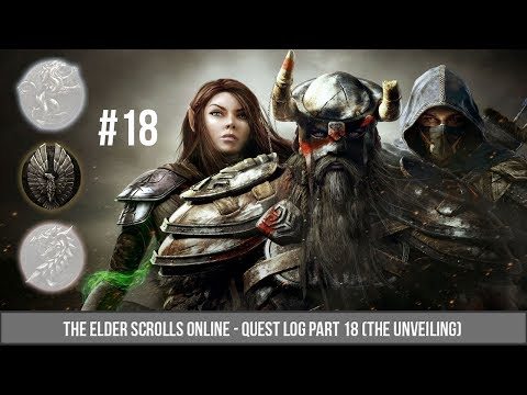 ESO Quest Log 18(AD) - The Unveiling