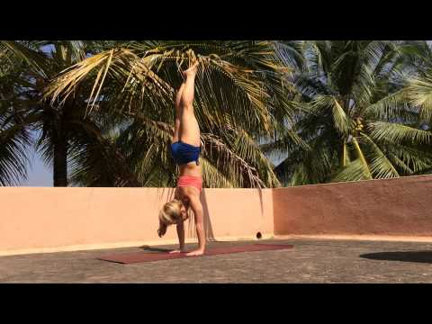 Straight Leg Handstand Press with Kino Yoga