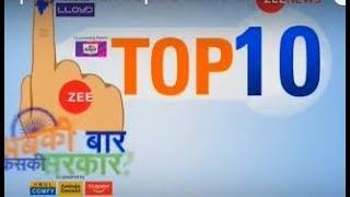 Election Top 10: Watch Top 10 news of Lok Sabha Elections 2019 - ZEENEWS