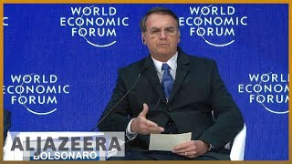 🌎 Bolsonaro to promote 'new Brazil' at Davos | Al Jazeera English - ALJAZEERAENGLISH