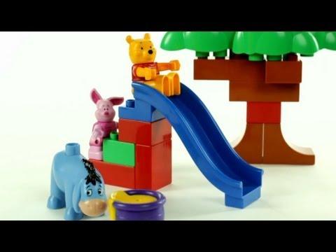 Lego Duplo Winnie The Pooh – Winnie's House – Muffin Songs' Oyuncakları Tanıyalım