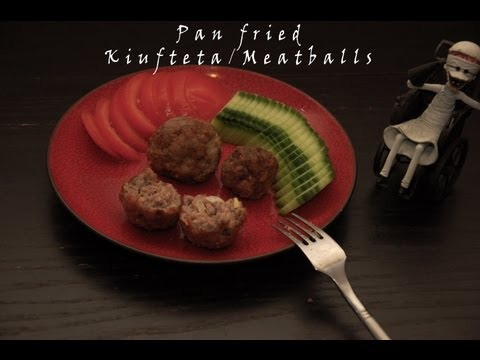 Pan-fried Meatballs