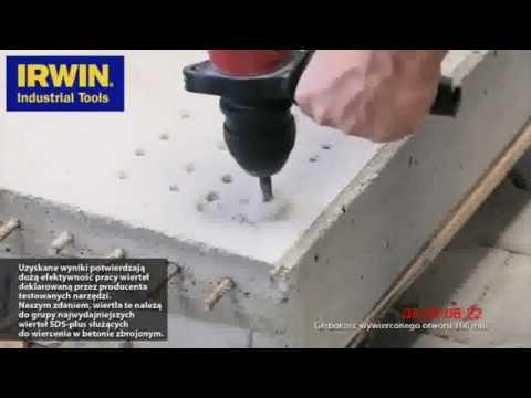 Test wierteł Irwin Speedhammer Power