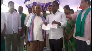 Minister Tummala Nageswar Rao Launches Rythu Bandhu Scheme In Khammam | CVR News - CVRNEWSOFFICIAL