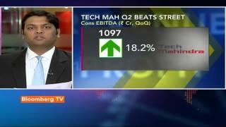 Earnings Edge: Tech Mahindra Q2 Outperforms Estimates - BLOOMBERGUTV