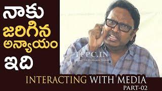 Rudramadevi Director Gunasekhar Interacting With Media About Nandi Awards   Part-02   TFPC - TFPC