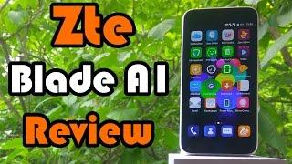 Zte Blade A1 - детальный обзор смартфона с множеством функций на процессоре МТ 6735