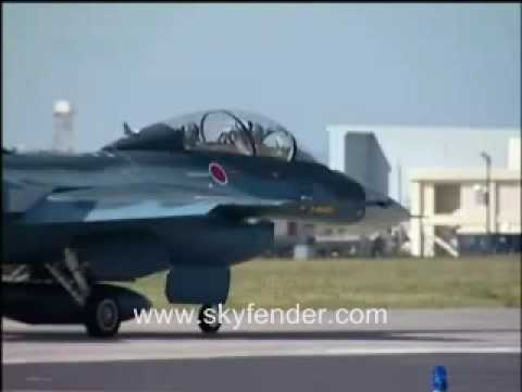 Japan F-1 Fighter Jet - Japan Air Self Defense Force
