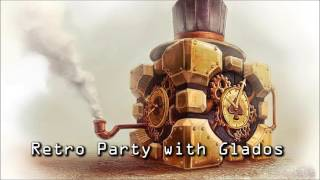 Royalty Free :Retro Party with Glados