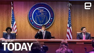 The FCC just voted to roll back Net Neutrality protections | Engadget Today - ENGADGET