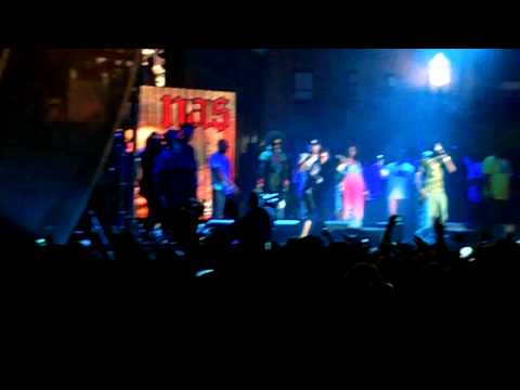 Nas, Lauryn Hill - If I Ruled the World - Rock The Bells New York 2011