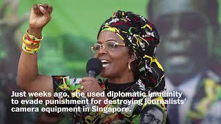 A model claims Grace Mugabe assaulted her - WASHINGTONPOST