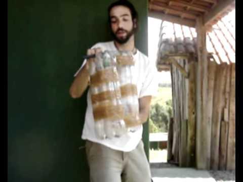 COMO FAZER UM BANCO / PUFF DE GARRAFAS PET ?
