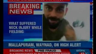Virat Kohli suffered neck injury while fielding, won't play for surrey CCC in June - NEWSXLIVE