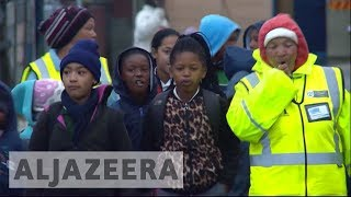 The walking bus: New initiative to keep South Africa's children safe - ALJAZEERAENGLISH