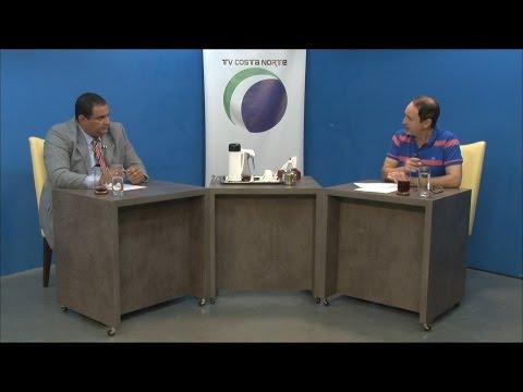 TV Costa Norte - Sala de Imprensa com Kaled Malat - pres. do PSDC de Bertioga