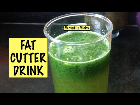 Fat Cutter Drink Lose 5 Kgs in 5 Days DIY Weight Loss Drink Remedy