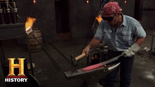Forged in Fire: Damascus Pattern Forge (Season 5) | History - HISTORYCHANNEL