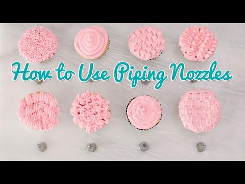 How to Use Piping Nozzles - Gemma's Bold Baking Basics Ep 35