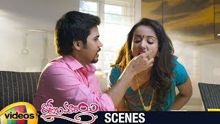 Tejaswi Madivada Marries Parvateesam | Rojulu Marayi Telugu Movie Scenes | Maruthi | Mango Videos - MANGOVIDEOS