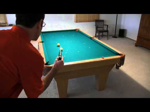 How to Aim Pool Shots - Ghostball Aiming System - from Vol-II of the BU instructional DVD series