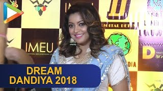 Tanushree Dutta & other top celebs attend Celebrity Dream Dandiya 2018 | Part 1 - HUNGAMA