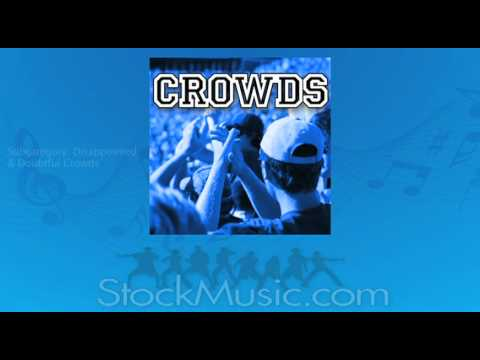 Crowd Sound Effects from StockMusic.com