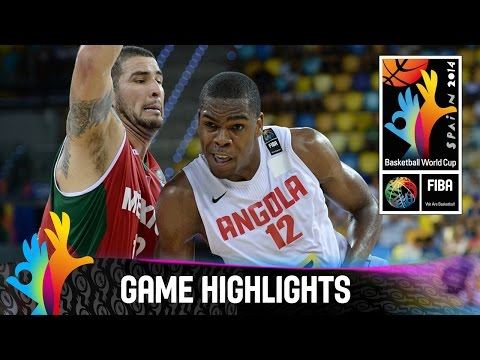 Angola v Mexico - Game Highlights - Group D - 2014 FIBA Basketball World Cup