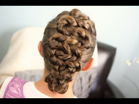 Zig-Zag Twists | Updos | Cute Girls Hairstyles
