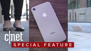 iPhone 8 drop test: How tough is the glass? - CNETTV