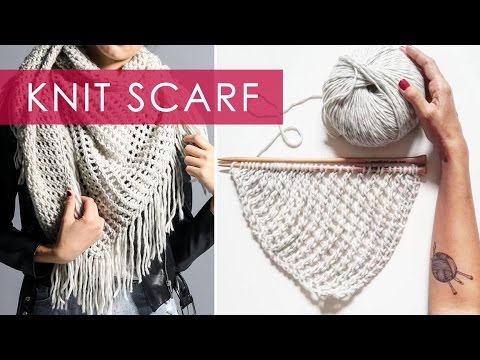 Knit Scarf   We Are Knitters (contest closed)