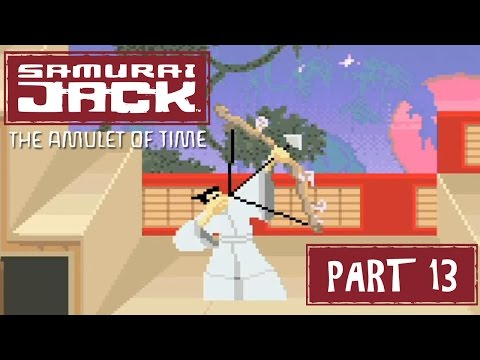 Samurai Jack: The Amulet of Time (GBA) Part 13 - Jacking in the Monk Temple | Too Much Gaming