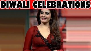 Raveena Tandon celebrates Diwali with zoOm! - EXCLUSIVE - ZOOMDEKHO