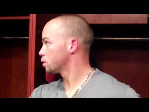 Juan Perez on playing at AT&T Park and comparing MLB to Winter Ball
