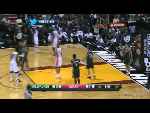 Lebron James Best Dunks 2012 [Full 720P HD]