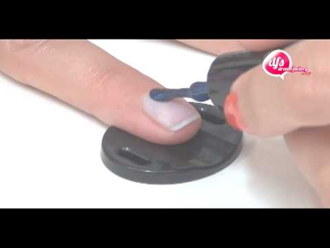 Použitie magnetický lak na prírodné alebo gélové nechty