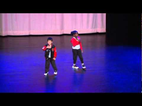 6yrs old  Hip Hop Dancers - Hip Hop Duet CLEAR! Choreography by Jade Jager Clark