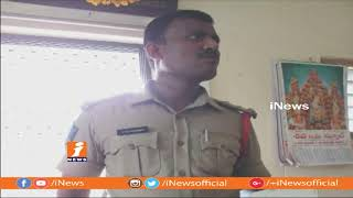 Yerpedu SI Venkataramana Lost Life Due ToHeat Attack at Renigunta Airport | iNews - INEWS