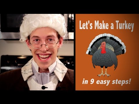 Ben Franklin's Thanksgiving Turkey Recipe